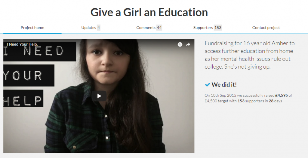 give a girl education